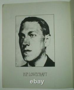 SIGNED, 1 of 123, CULTS OF CTHULHU, FRATER TENEBROUS, OCCULT, E. O. D. LOVECRAFT