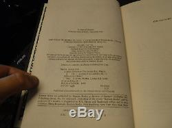 SIGNED 1st/1st A Game of Thrones George R R Martin Hardcover