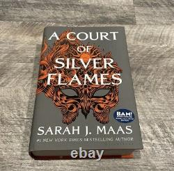 SIGNED A Court of Silver Flames BAM Exclusive Sarah J Maas
