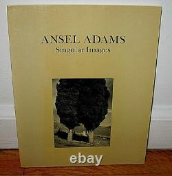 SIGNED Ansel Adams Singular Images Yosemite Valley California FIRST Print 1974