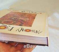 SIGNED! Anthony Bourdain Appetites A Cookbook Hardcover