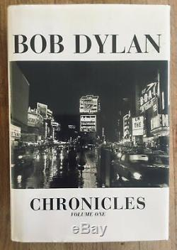 SIGNED Bob Dylan's Chronicles Volume One First Edition 2004 9780743230766