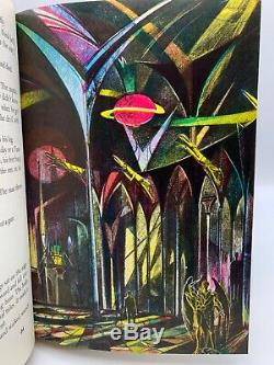 SIGNED Easton Press MARTIAN CHRONICLES Ray Bradbury Collectors Deluxe Edition CA