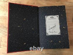 SIGNED Harry Potter and the Philosopher's Stone New, 1st Minalima UK Edition