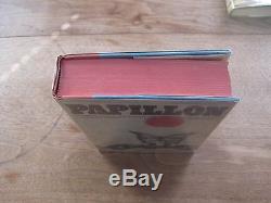 SIGNED Henri Charriere PAPILLON 1st edition HCDJ VG+ 1970 $8.95
