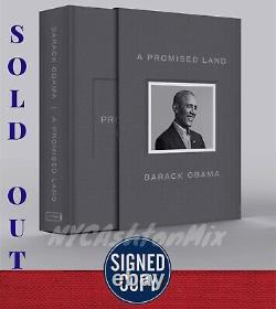 SIGNED & IN HAND Deluxe Clothbound A Promised Land By Barack Obama, Sold Out