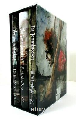SIGNED LTD ED The Tommyknockers Stephen King 2018 HC 3-Vols SC PS Publishing