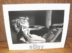 SIGNED Numbered Elliott Erwitt Snaps + Marilyn Monroe NY Silver Gelatin Print