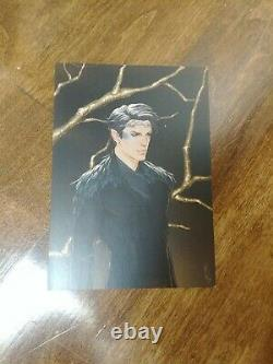 SIGNED The Cruel Prince UK 1ST/1ST author letter and Cardan print (Fairyloot)