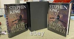 SIGNED WOLVES OF THE CALLA Stephen King Signed/Numbered In Slipcase Grant