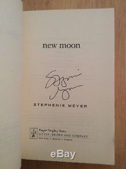 SIGNED by Stephenie Meyer ARC New Moon Twilight Saga SC 1st/1st + Pic RARE