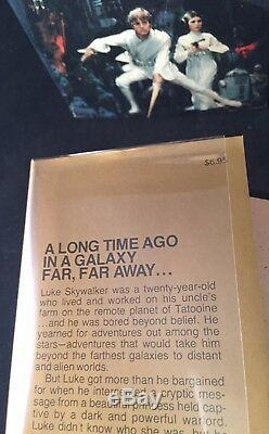 STAR WARS 1st Printing BOOK SET X 3 withDJ TRADE, BCE, PBO Alan Foster SIGNED 1977