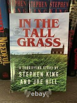 STEPHEN KING & JOE HILL SIGNED IN THE TALL GRASS' NOVELLA IndieBookDay 1/300