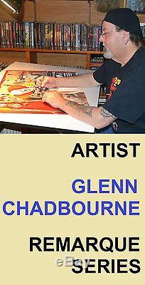STEPHEN KING Remarqued CREEPSHOW 1st Print HC Artst Chadbourne SIGNED! #68 / 100