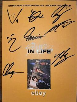 STRAYKIDS IN INLIFE Autographed Signed Album
