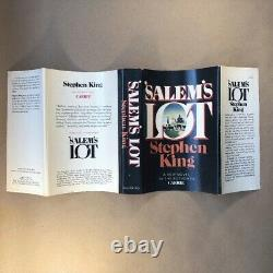 Salem's Lot by Stephen King (Signed, Early Trade Printing, Hardcover in Jacket)