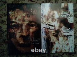 Sandman Paperback TPB Set of 10 1st Editions, 1 signed Neil Gaiman, World x2