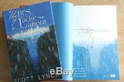 Scott Lynch The Gentleman Bastards double-signed/remarqued ltd 1st edn set