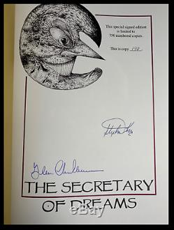 Secretary Of Dreams II SIGNED by STEPHEN KING Cemetery Dance Limited 1/750