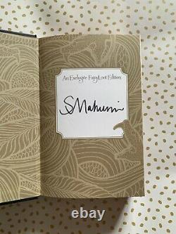 Serpent & Dove Shelby Mahurin FairyLoot Exclusive Signed Sprayed Edges