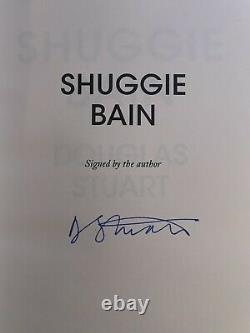 Shuggie Bain UK Signed 1st Edition / 1st Printing
