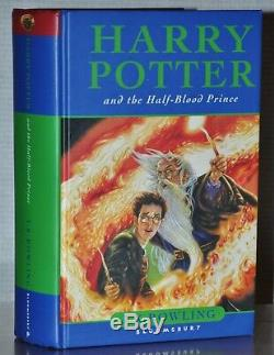 Signed 1st/1st Ed Harry Potter And The Half Blood Prince J. K. Rowling