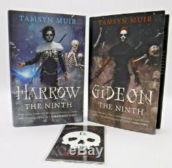 Signed 1st/1st Limited Illumicrate Gideon and Harrow the Ninth by Tamsyn Muir