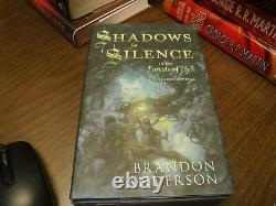 Signed 1st/1st Limited Subterranean Press Perfect State Brandon Sanderson