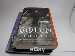 Signed 1st/1st Subterranean Press Gideon the Ninth tamsyn muir Illumicrate