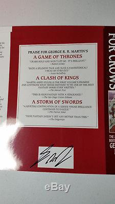Signed 1st Rare Alternate Cover A Feast for Crows 4 by George R. R. Martin
