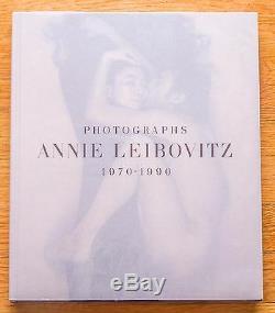 Signed Annie Leibovitz Photographs 1977 1991 1st Edition Fine Copy