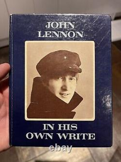 Signed Autographed Beatles John Lennon 1st Edition Book In His Own Write