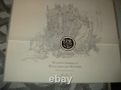 Signed Harry Potter & Goblet of Fire JK Rowling Ill Deluxe Slipcase Edition