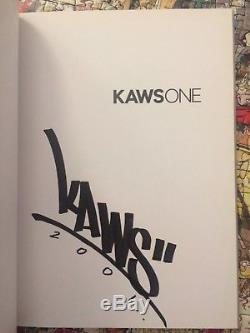 Signed Kaws One Book 2001 Rare Early Graffiti Signature Kaws First Book A Gem
