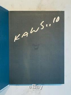 Signed Kaws Rizzoli Hardcover Monograph 2010