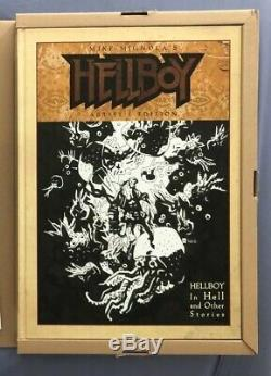 Signed Mike Mignola IDW Hellboy Artists Edition 1st Print Signed & Sketched