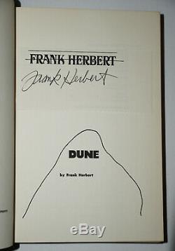 Signed Near Fine 1st/1st/1st Ed Dune Frank Herbert
