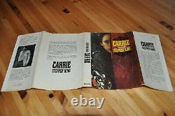 Signed Near Fine 1st/1st Edition, W. Original Jacket Carrie Stephen King