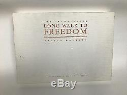 Signed Nelson Mandela + Illustrated Long Walk To Freedom + Exclusive Ltd 119/425
