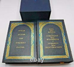 Signed Numbered Leather Stormlight Archive The Way of Kings Brandon Sanderson