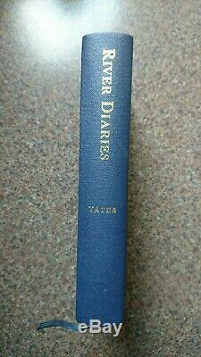 Signed RIVER DIARIES Chris Yates Fishing Book Limited 1st Edition Barbel Carp
