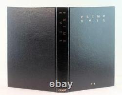 Signed Stephen King Clive Barker Donald Grant Limited Edition 1988 Prime Evil