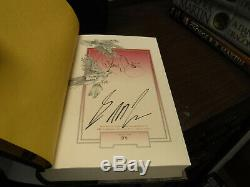 Signed Subterranean Press A Feast for Crows George R. R. Martin Game of Thrones