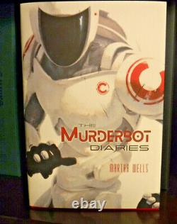 Signed Subterranean Press The Murderbot Diaries by Martha Wells 2021 Hardcover
