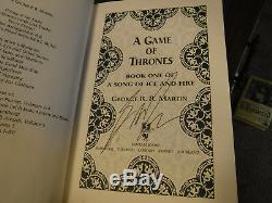 Signed True 1st/1st A Game of Thrones 1996 Hardcover Geroge R R Martin