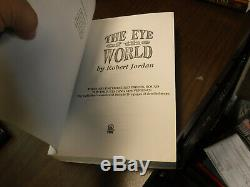 Signed True 1st/1st ARC/Proof Wheel of Time The Eye of the World Robert Jordan