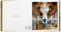 Signed With Large Flower Drawing Jeff Koons Versailles Hardcover Catalogue