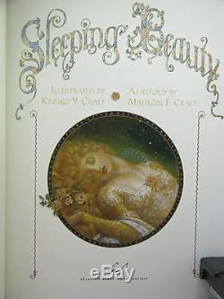 Signed by 2(author, artist), Sleeping Beauty by Mahlon & Kinuko Craft, Easton Press