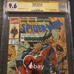Spider-Man #6 CGC 9.6 SS Signed Stan Lee Todd McFarlane story, cover & art