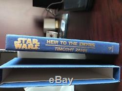 Star Wars Heir to the Empire Zahn Signed Limited rare collectible only 300 exist